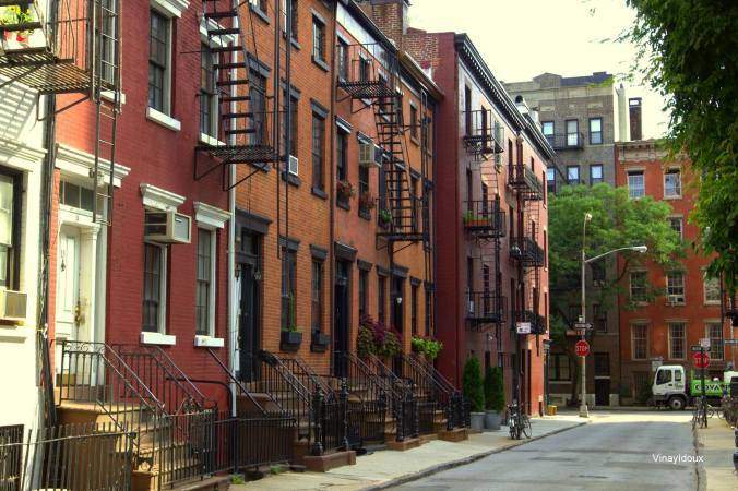 """""""Greenwich Village, Gay St"""" - photo by Vinay Idoux. Photo of the Week, submit yours at  www.facebook.com/nycdaily"""