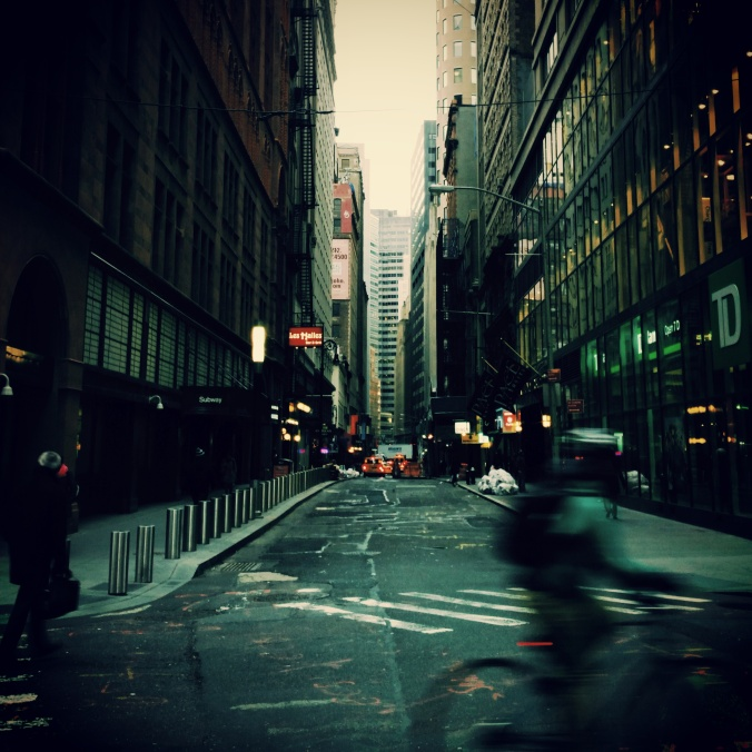 John Street, Downtown Manhattan. Photo: Marek Rygielski